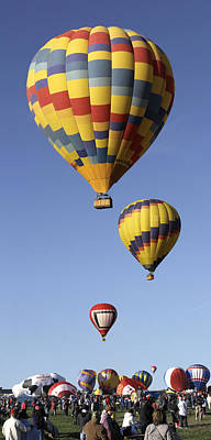 Albuquerque New Mexico Photograph - Balloon Fiesta 2012 by Mike McGlothlen