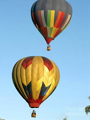 Marilyn Photograph - Balloon Launch by Marilyn Smith