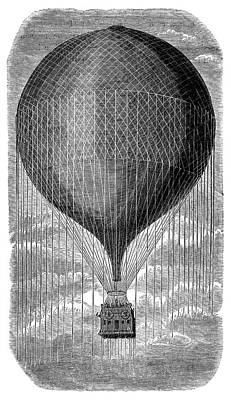 Balloon 'le Geant' Art Print by Science Photo Library