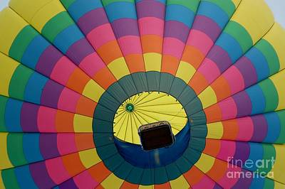 Balloon Lift-off  Art Print