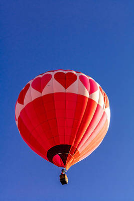 Photograph - Balloon Love by Teri Virbickis