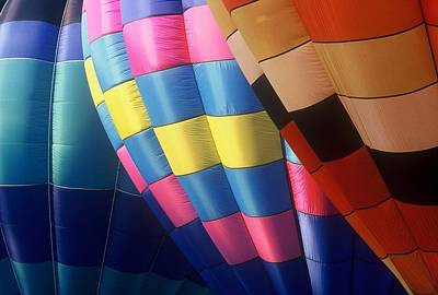 Art Print featuring the photograph Balloon Patterns by Rodney Lee Williams