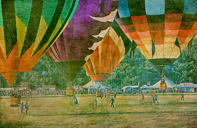 Photograph - Balloon Race by Dyle   Warren