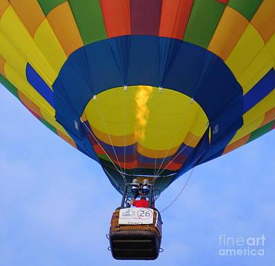 Photograph - Balloon by Rachel Munoz Striggow