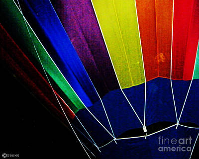Digital Art - Balloon Rainbow by Lizi Beard-Ward