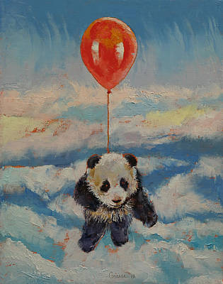 Giant Painting - Balloon Ride by Michael Creese