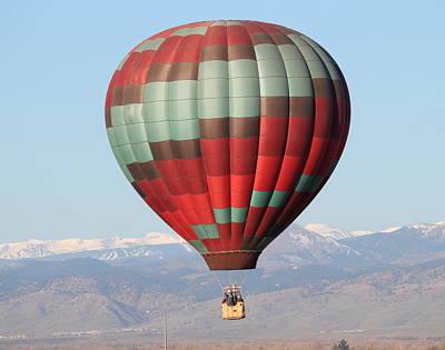 Photograph - Balloon Ride by Trent Mallett