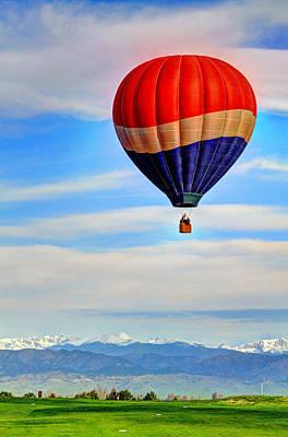 Photograph - Balloon Swirl by Scott Mahon
