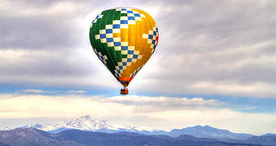 Photograph - Balloonfest 6 by Scott Mahon
