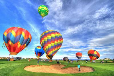 Hot Boulders Photograph - Balloonfest4 by Scott Mahon