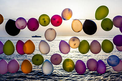 Photograph - Balloons by Ali Kabas