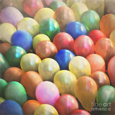 Photograph - Balloons by Cindy Garber Iverson