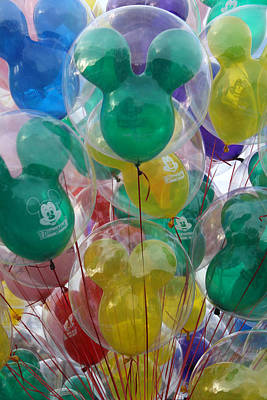 Photograph - Balloon's by David Nicholls