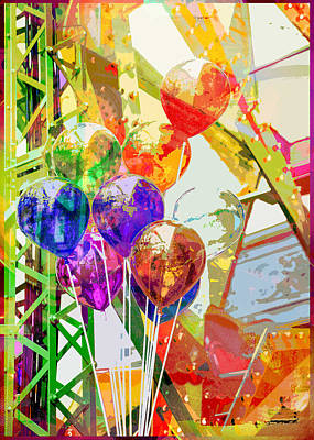 Photograph - Balloons For Sale by Susan Stone