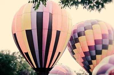Photograph - Balloons by Mirian Hubbard
