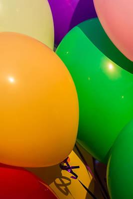 Inflatable Photograph - Balloons Vertical by Alexander Senin