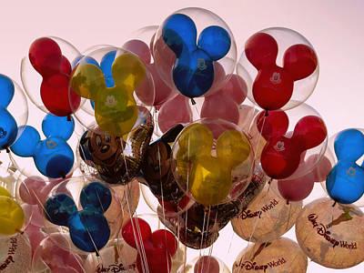 Balloons Art Print by Zina Stromberg