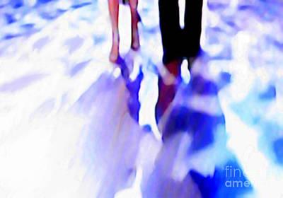 Ballroom Dance Floor Abstract 12 Art Print