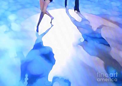 Ballroom Dance Floor Abstract 3 Art Print