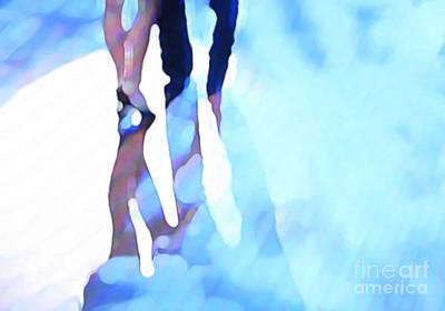 Ballroom Dance Floor Abstract 4 Art Print