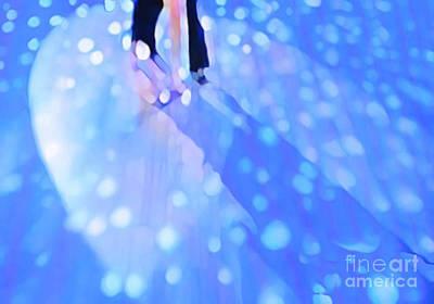 Ballroom Dance Floor Abstract 5 Art Print