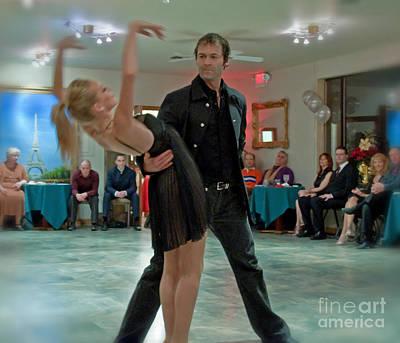 Photograph - Ballroom Dancers by Valerie Garner