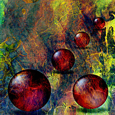 Whimsical Flowers Royalty Free Images - Balls Royalty-Free Image by Ally  White