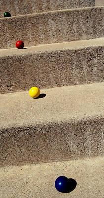 Photograph - Balls And Concrete 3 by Mirian Hubbard