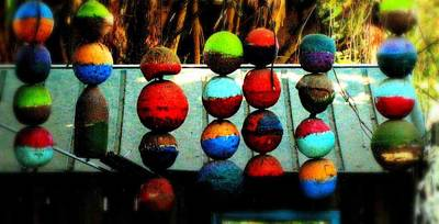 Balls From Heaven Art Print by Claudette Bujold-Poirier
