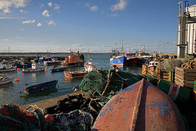 Fishing Harbour Photograph - Ballycotton Fishing Harbour,county by Panoramic Images