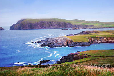 Ballyferriter Co. Kerry Ireland Art Print by Jo Collins