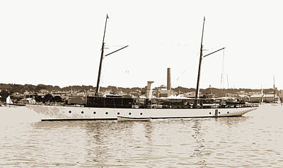 Ballymena, Ballymena Steam Yacht, Steam Yachts Art Print