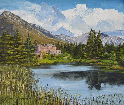 Painting - Ballynahinch Connemara Ireland by Diana Shephard