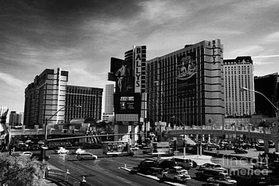 ballys hotel and casino on Las Vegas boulevard Nevada USA Print by Joe Fox