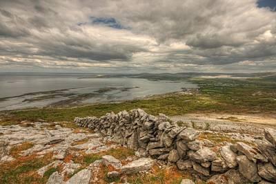 Beautiful Ireland Photograph - Ballyvaughan View 1 by John Quinn
