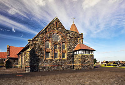 Religious Photograph - Ballywatt Presbyterian Church by Marcia Colelli