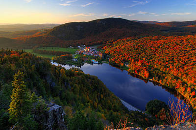 Photograph - Balsams Sunset by Chris Whiton