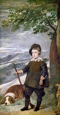 1636 Painting - Baltasar Carlos (1629-1646) by Granger