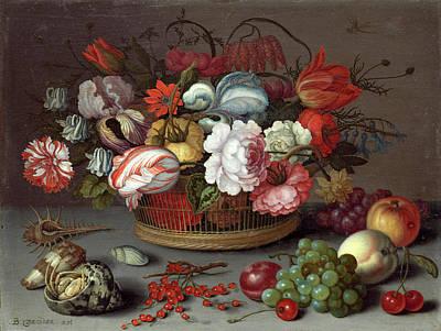 Balthasar Painting - Balthasar Van Der Ast Dutch, 1593-1594 - 1657 by Quint Lox