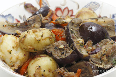 Photograph - Balti Aubergine And Potato Curry by Paul Cowan