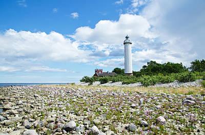 Photograph - Baltic Sea Lighthouse by Kennerth and Birgitta Kullman