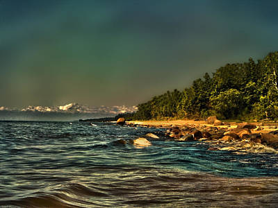 Baltic Amber Photograph - Baltic Sea Vidzeme Coast Latvia by Guna  Andersone