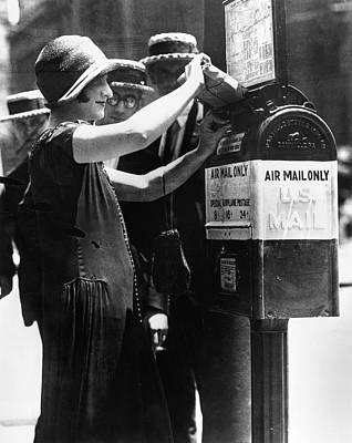 Baltimore Air Mail Box Art Print