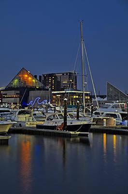 Photograph - Baltimore Harbor by Susan Candelario