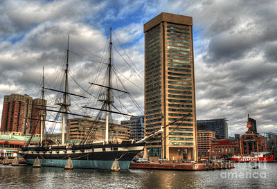Photograph - Baltimore Inner Harbor by Deborah Smolinske