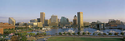 Baltimore Inner Harbor Photograph - Baltimore Md by Panoramic Images