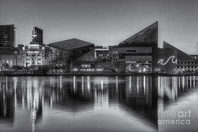 Photograph - Baltimore National Aquarium At Dawn II by Clarence Holmes