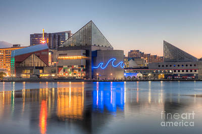 Photograph - Baltimore National Aquarium At Dawn IIi by Clarence Holmes