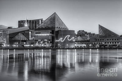 Photograph - Baltimore National Aquarium At Dawn Iv by Clarence Holmes