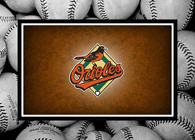 Oriole Photograph - Baltimore Orioles by Joe Hamilton
